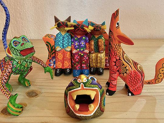 Conocer el elgado artesanal de Oaxaca